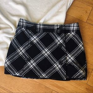 Dresses & Skirts - Plaid Mini Skirt